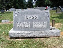 Alice Blake Bass