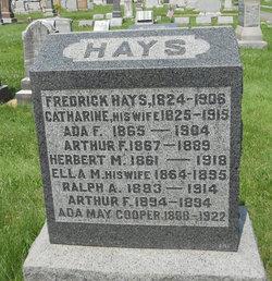 Ada F Hays