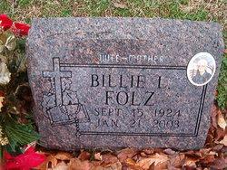Billie Louise <i>Stegner</i> Folz