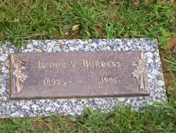 Jennie V. <i>Barker</i> Burdess