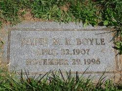 Sadie Millie <i>Ruggles</i> Boyle