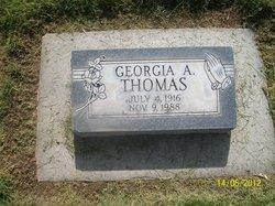 Georgia A Thomas