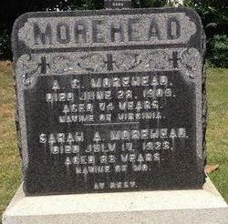 Sarah A <i>Read</i> Morehead