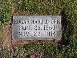 Edgar Harold Orr