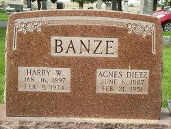 Agnes <i>Dietz</i> Banze