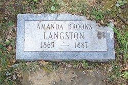 Amanda <i>Brooks</i> Langston