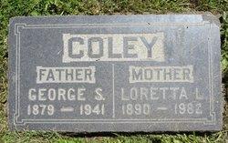 Loretta L. <i>McCarthy</i> Coley