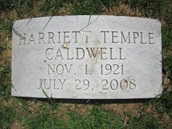 Harriett <i>Temple</i> Caldwell