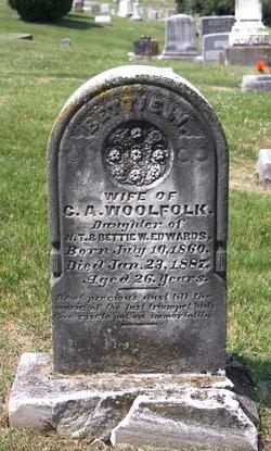 Bettie W. <i>Edwards</i> Woolfolk