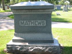 Agnes Edna <i>Welstead</i> Mathews