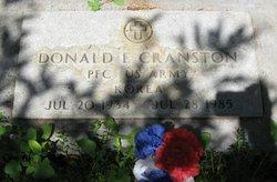 Donald Eugene Cranston