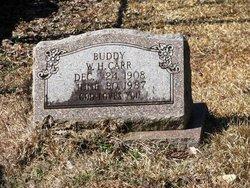 William Henry Buddy Carr