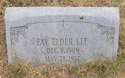 Fay <i>Elder</i> Lee