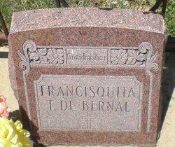Francisquita T De <i>Trujillo</i> Bernal