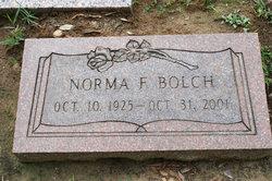 Norma F Bolch