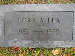 Mrs. Cora Alice <i>Markley</i> Lea