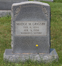 Madge C. <i>McWhirt</i> Grigsby
