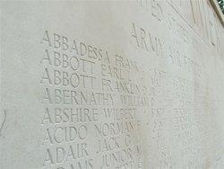 1Lt Franklin David Abbott, Jr