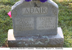 Celia Seely <i>Abbott</i> Adair