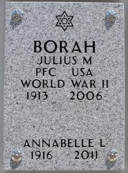 Julius M Borah