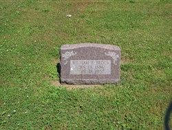William F Brock