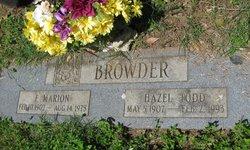 Hazel <i>Todd</i> Browder