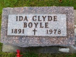 Ida <i>Clyde</i> Boyle
