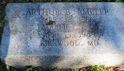 Arthur Burkadike J Ambler