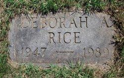 Deborah Ann Rice