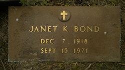 Janet Kies <i>Moore</i> Bond