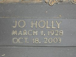 Ilda Josephine <i>Holly</i> Robertson