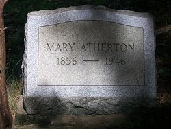Mary <i>Gabert</i> Atherton
