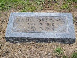 Martin Frederick Fred Clark