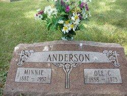 Minnie M. <i>Manzeck</i> Anderson