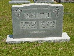 Martha Jane <i>Stogner</i> Smith