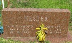 Cecil Raymond Hester