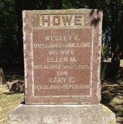 Ellen M <i>Johnson</i> Howe