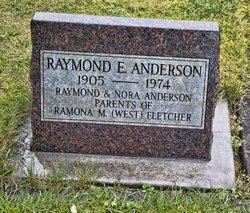 Raymond E Anderson