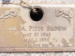 Jill A. <i>Pitts</i> Brown