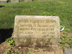 Frances Pomeroy Fanny Brown