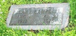 Jean Evelyn <i>Nichols</i> Campbell