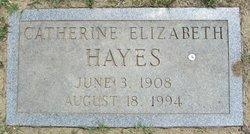 Catherine Elizabeth Hayes