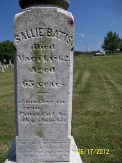 Sallie Sarah <i>Nutty</i> Batis