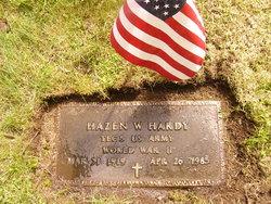 Hazen Wendell Hardy