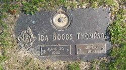 Ida Isabel <i>Morgan</i> Boggs Thompson