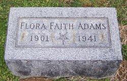 Flora Faith <i>Graham</i> Adams
