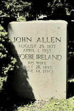 Phoebe <i>Ireland</i> Allen