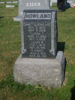 Elmina E. <i>Jeffers</i> Howland