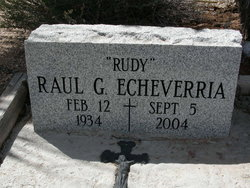 Raul G Rudy Echeverria