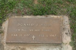 Sgt Donald Joe Hall
